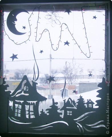 Как украсить окна на новый год 2015 своими руками фото трафареты