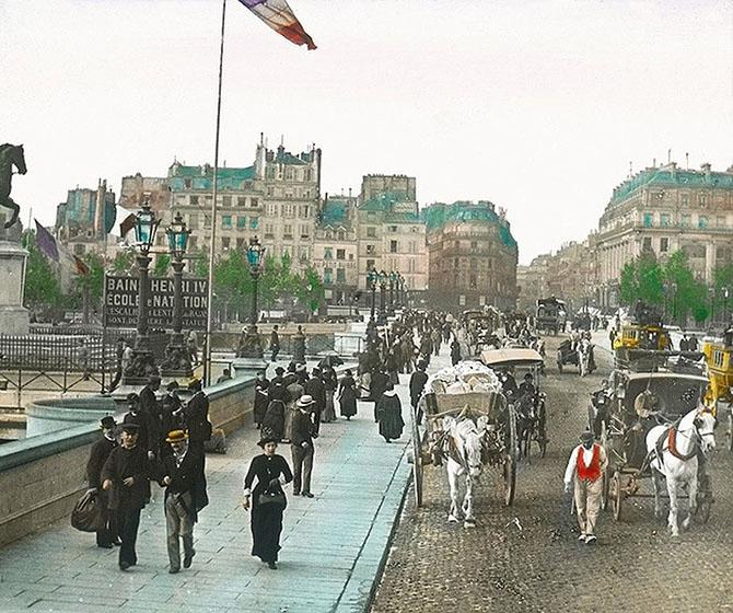Париж тогда и сейчас