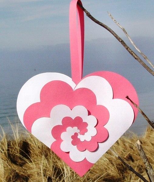 Двухцветное сердце — упаковка