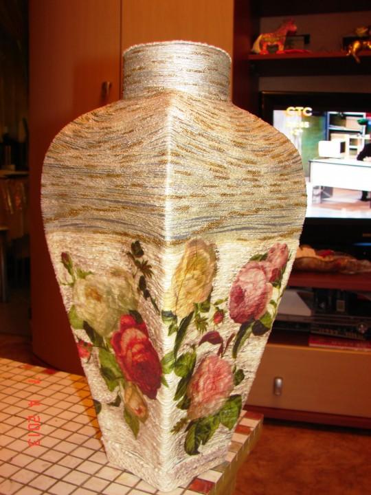 Китайские вазы своими руками 7571