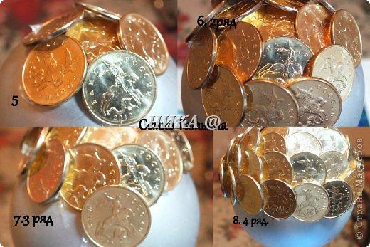 Топиарий из монет своими руками для начинающих
