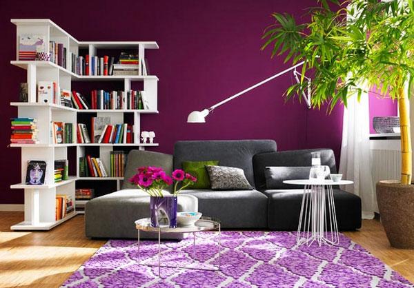 Wandfarben kontrast beispiele