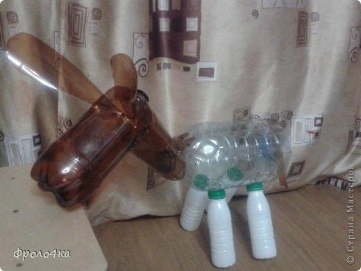 Поделки с пластиковой бутылки самолет