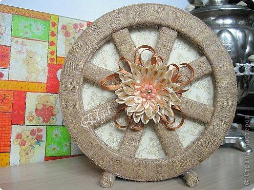 Чайное колесо своими руками 61