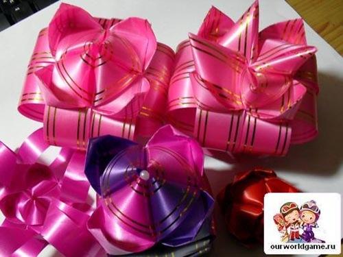 Цветы из бумажных лент своими руками с пошаговым фото