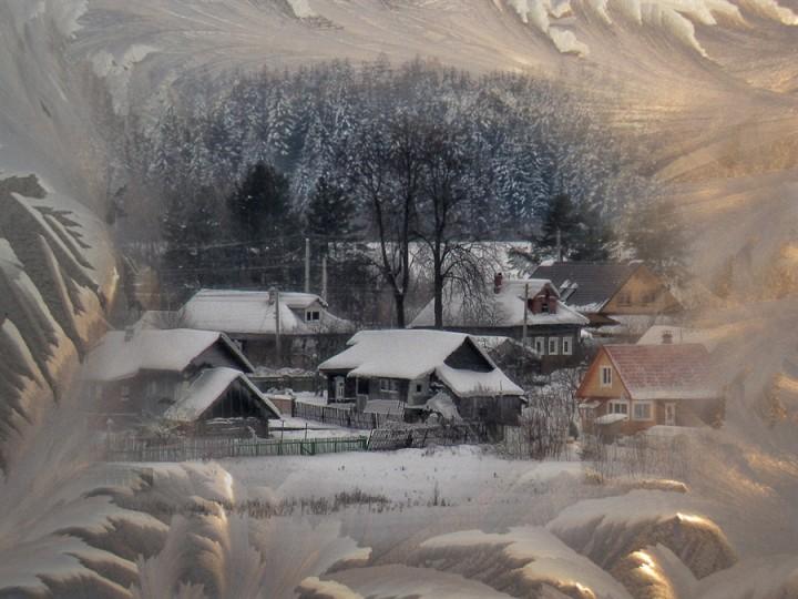 Фото жизнь - Лидия Бабинова - корневой каталог - и на окне зима, и за окном зима...