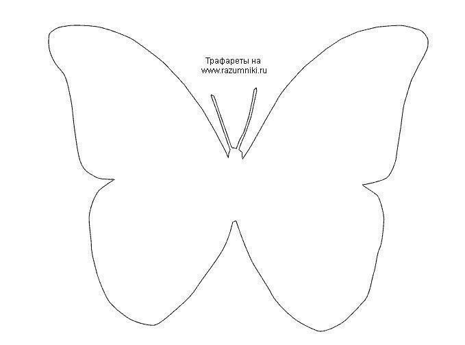 Шаблоны бабочек для декора своими руками шаблоны