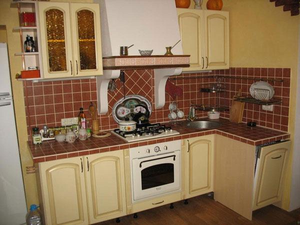Встраиваемая кухня фото своими руками