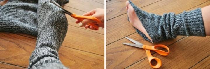 Что сшить из старых носок