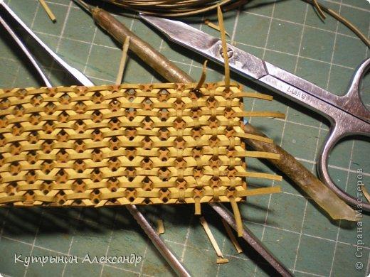 Плетем из бересты своими руками