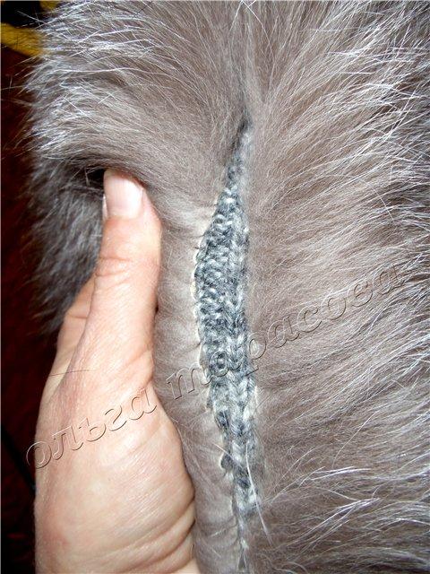Как сшить меховую шапку из кусочков меха