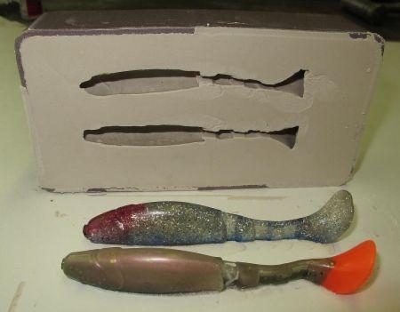 силиконовые приманки своими руками изготовление форм