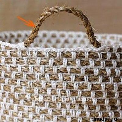 Своими руками сумки из веревки