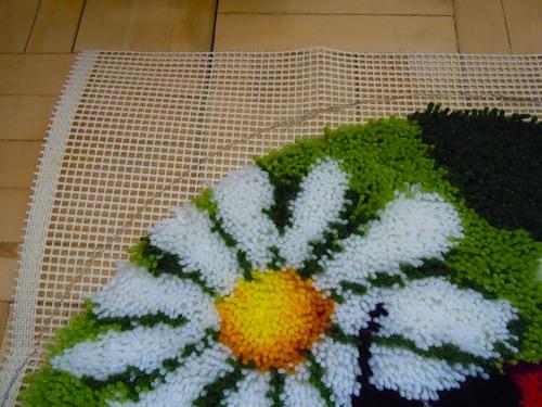 Как сделать своими руками пушистый коврик