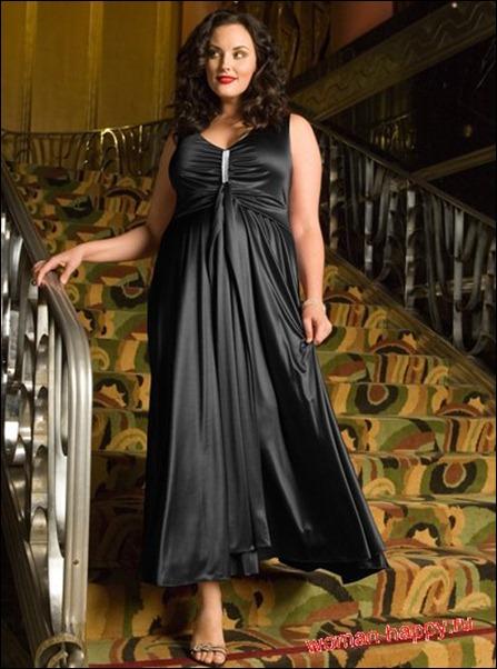 Каталог вечерних платьев для полных и цены