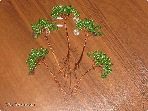 Денежное дерево из бисера своими руками пошаговое фото