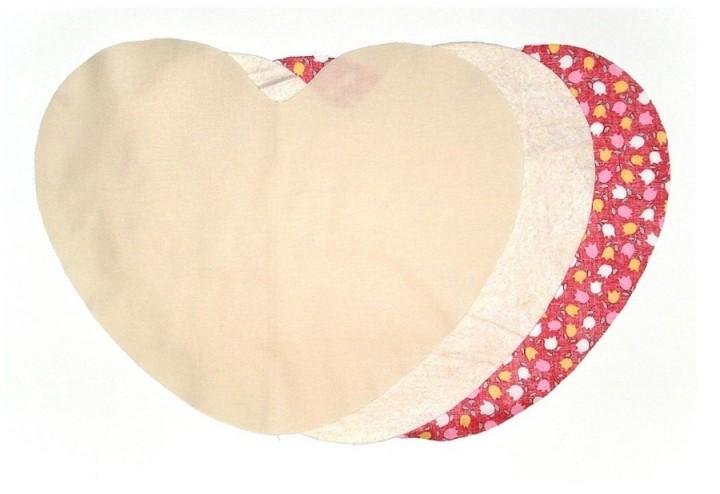 Как сшить подушку в виде сердца своими руками