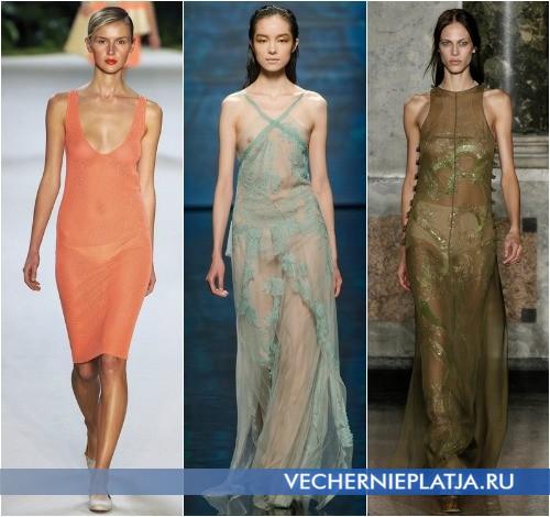 Смотреть фото женщин в прозрачных платьях фото 190-174