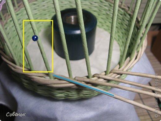 Мастер-класс Плетение МК - Шкатулка из бумаги Бумага газетная Трубочки бумажные фото 36