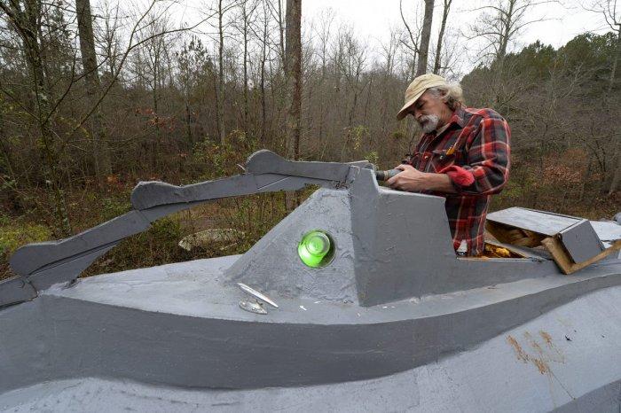 Американец строит точную копию «Наутилуса»