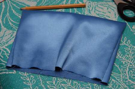 Как выкроить подкладку для сумки