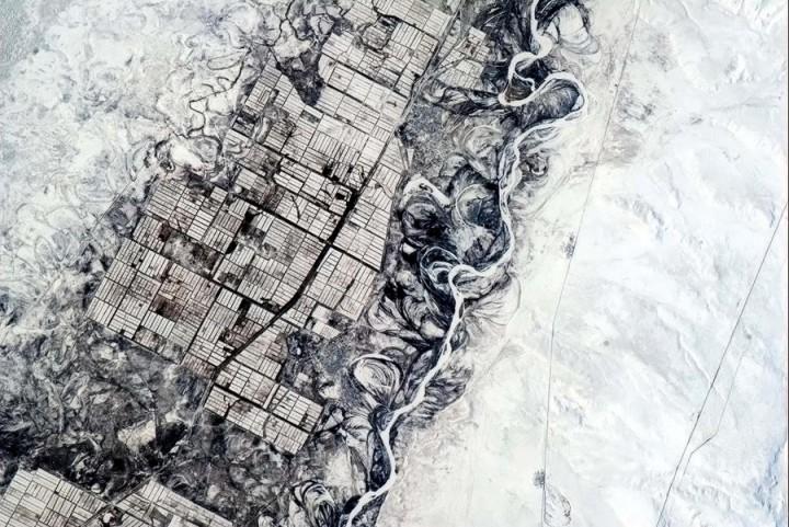 KrisXedfild 13 Крис Хэдфилд: потрясающие фотографии из космоса