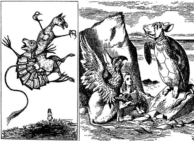 Как иллюстрировали первое издание «Алисы в Стране Чудес»? Ко дню выхода сказки Л. Кэрролла