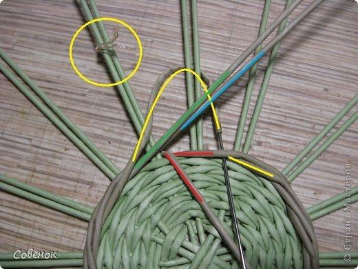 Мастер-класс Плетение МК - Шкатулка из бумаги Бумага газетная Трубочки бумажные фото 13