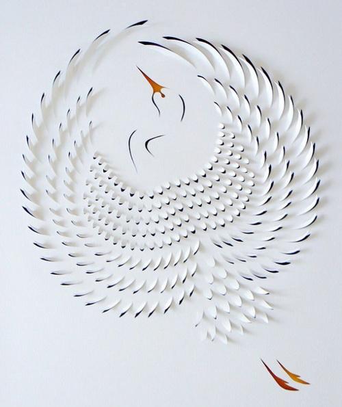 картинки тегом объемный лебедь для открытки фото