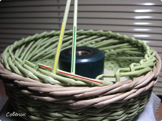 Мастер-класс Плетение МК - Шкатулка из бумаги Бумага газетная Трубочки бумажные фото 43