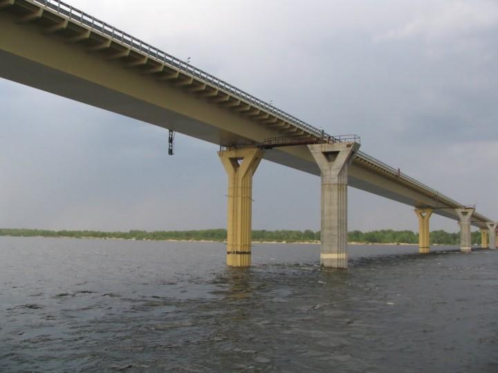 Речное путешествие. Волгоград. Мост.