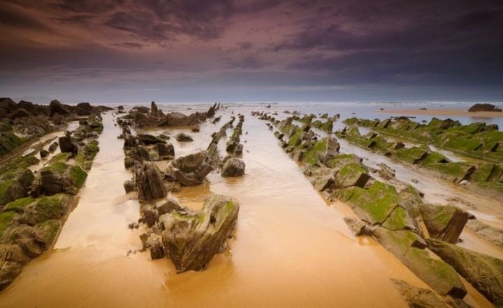 turbidites15 Турбидиты   необычные образования на побережье Испании