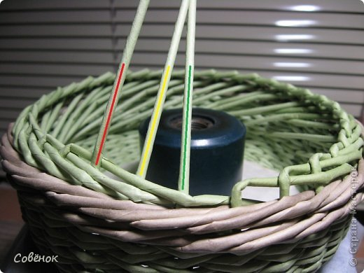 Мастер-класс Плетение МК - Шкатулка из бумаги Бумага газетная Трубочки бумажные фото 42