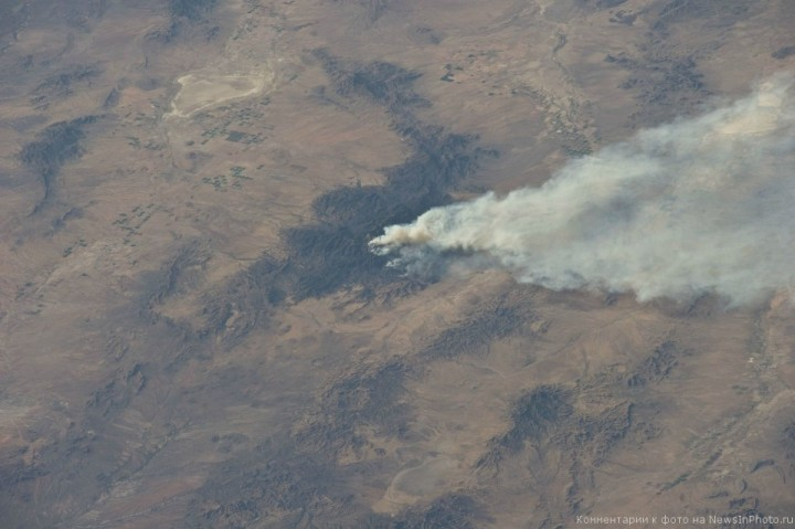 Фотографии Земли астронавта Рона Гарана, сделанные им с МКС | NewsInPhoto.ru Новости и репортажи в фотографиях (5)