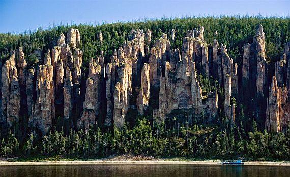 Ленские столбы - чудеса природы