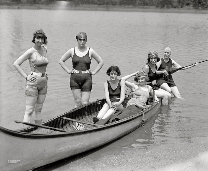 Beachfashion06 Пляжная мода 20 30 х годов XX века