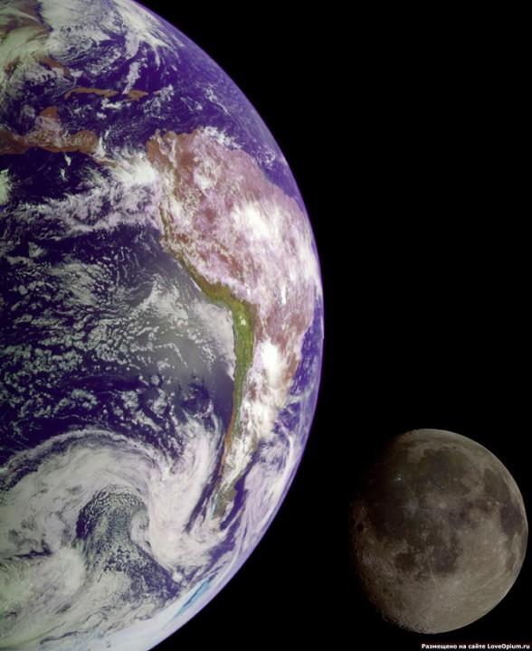 Другая сторона Луны