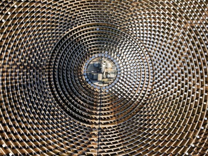 Gemasolar03 Gemasolar   первая в мире круглосуточная гелиоэлектростанция
