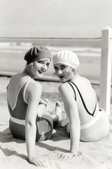 Beachfashion21 Пляжная мода 20 30 х годов XX века