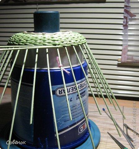 Мастер-класс Плетение МК - Шкатулка из бумаги Бумага газетная Трубочки бумажные фото 27