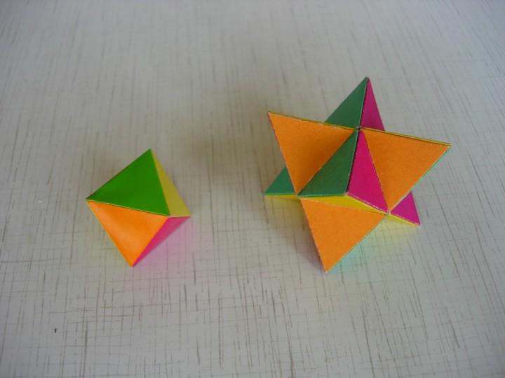 Звездчатые многогранники своими руками шаблоны