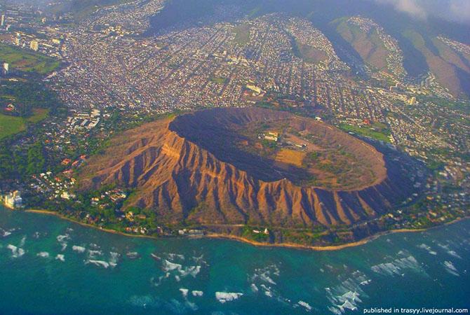 7 самых удивительных вулканических кратеров