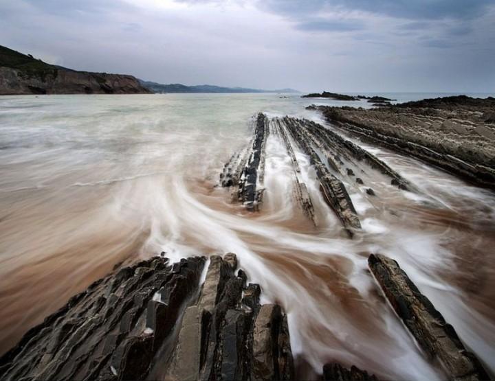 turbidites12 Турбидиты   необычные образования на побережье Испании
