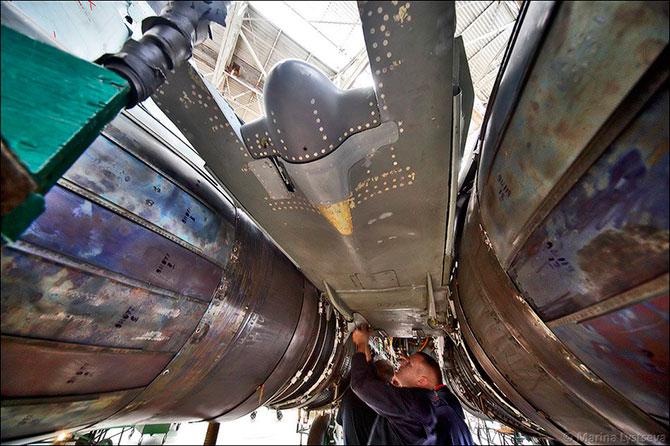 Производство МиГ-29 в Москве