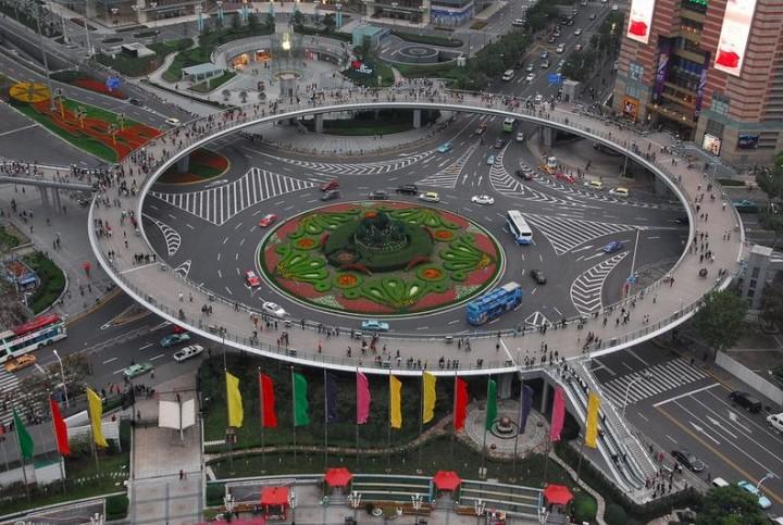мост-кольцо для пешеходов