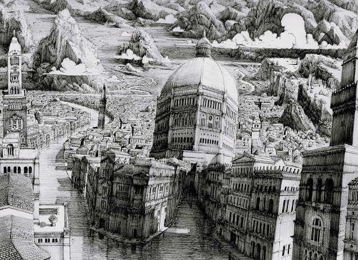 Любимая тема Сэка — старые европейские города