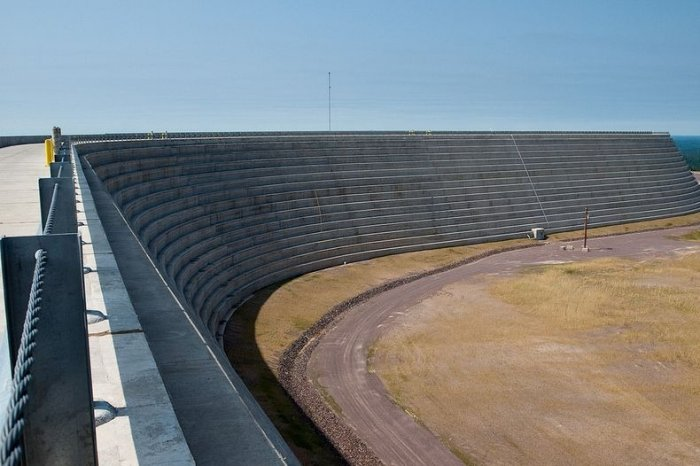 Уникальная ГЭС вдали от воды