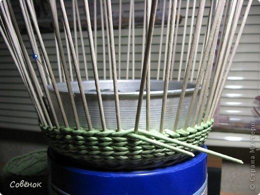 Мастер-класс Плетение МК - Шкатулка из бумаги Бумага газетная Трубочки бумажные фото 64