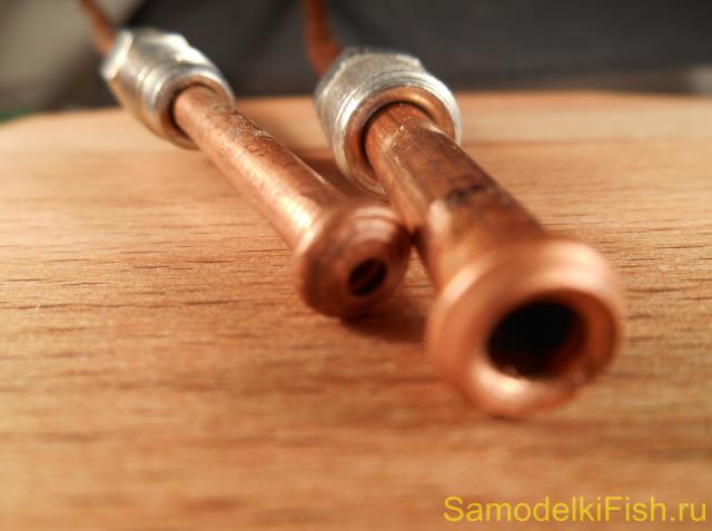 Самодельная блесна из медной трубки на судака своими руками