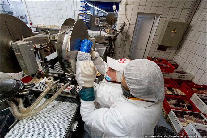 Как делается колбаса в России?